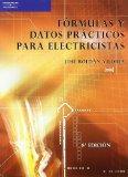 Portada de FORMULAS Y DATOS PRACTICOS PARA ELECTRICISTAS (8ª ED.) (ELECTRICIDAD ELECTRONICA)