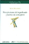 Portada de ESCEPTICISMO DEL SIGNIFICADO Y TEORIAS DE CONCEPTO