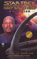 Portada de THE FALL OF TEROK NOR (BOOK I OF III): STAR TREK DEEP SPACE NINEMILLENIUM
