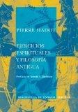 Portada de EJERCICIOS ESPIRITUALES Y FILOSOFIA ANTIGUA