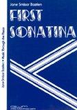 Portada de BASTIEN - FIRST SONATINAS PARA PIANO
