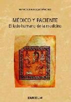 Portada de MEDICO Y PACIENTE: EL LADO HUMANO DE LA MEDICINA