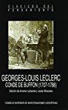 Portada de GEORGES-LOUIS LECLERC, CONDE DE BUFFON