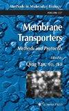 Portada de MEMBRANE TRANSPORTERS