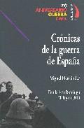 Portada de CRONICAS DE LA GUERRA DE ESPAÑA