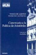 Portada de COMENTARIO A LA POLITICA DE ARISTOTELES