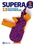 Portada de SUPERA LAS 13 DIFICULTADES DE MATEMÁTICAS 5º: EDICIÓN 2015 (CASTELLANO - MATERIAL COMPLEMENTARIO - SUPERA LAS DIFICULTADES)