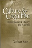 Portada de CULTURE AND COGNITION: IMPLICATIONS FOR THEORY AND METHOD
