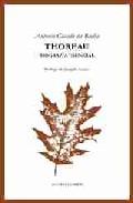 Portada de THOREAU: BIOGRAFIA ESENCIAL