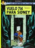 Portada de VUELO 714 PARA SIDNEY (TINTIN)