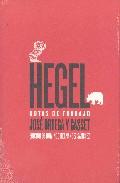 Portada de HEGEL: NOTAS DE TRABAJO