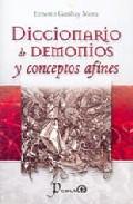 Portada de DICCIONARIO DE DEMONIOS Y CONCEPTOS AFINES