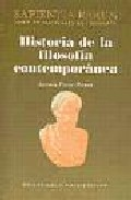 Portada de HISTORIA DE LA FILOSOFIA CONTEMPORANEA