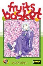 Portada de FRUITS BASKET Nº 9