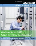 Portada de EXAM 70-640 WINDOWS SERVER 2008 ACTIVE DIRECTORY CONFIGURATION