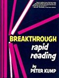 Portada de BREAKTHROUGH RAPID READING BY PETER KUMP (1979-04-05)