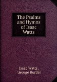 Portada de THE PSALMS AND HYMNS OF ISAAC WATTS