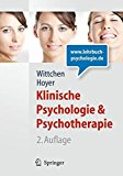 Portada de KLINISCHE PSYCHOLOGIE & PSYCHOTHERAPIE (LEHRBUCH MIT ONLINE-MATERIALIEN) (SPRINGER-LEHRBUCH) (GERMAN EDITION) (2011-09-08)