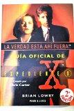 Portada de GUÍA OFICIAL DE EXPEDIENTE X. LA VERDAD ESTÁ AHÍ FUERA