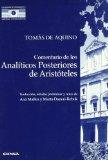 Portada de COMENTARIO DE LOS ANALITICOS POSTERIORES DE ARISTOTELES