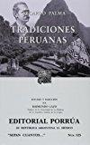 Portada de TRADICIONES PERUANAS