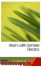 Portada de HOURS WITH GERMAN CLASSICS