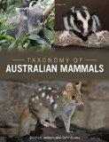 Portada de TAXONOMY OF AUSTRALIAN MAMMALS