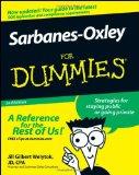 Portada de SARBANES-OXLEY FOR DUMMIES
