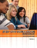 Portada de STEP INTO PROGRAMMING WITH VISUAL BASIC .NET