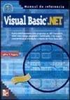 Portada de VISUAL BASIC.NET - MANUAL DE REFERENCIA -