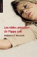 Portada de LES VIDES PRIVADES DE PIPPA LEE
