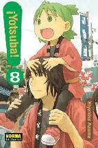 Portada de ¡YOTSUBA! 8
