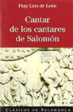 Portada de CANTAR DE LOS CANTARES DE SALOMON