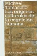 Portada de ORIGENES CULTURALES COGNICION HUMANA