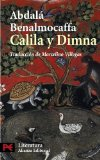 Portada de CALILA Y DIMNA
