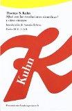 Portada de ¿QUÉ SON LAS REVOLUCIONES CIENTÍFICAS?: INTRODUCCIÓN DE ANTONIO BELTRÁN (PENSAMIENTO CONTEMPORÁNEO) DE THOMAS S. KUHN (1 DIC 1989) TAPA BLANDA