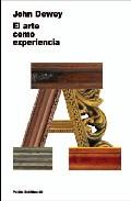 Portada de EL ARTE COMO EXPERIENCIA