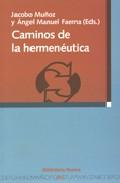 Portada de CAMINOS DE LA HERMENEUTICA
