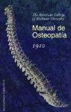 Portada de MANUAL DE OSTEOPATIA 1910