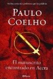 Portada de EL MANUSCRITO ENCONTRADO EN ACCRA (BIBLIOTECA PAULO COELHO) DE PAULO COELHO (12 DE NOVIEMBRE DE 2012)