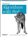Portada de MASTERING ALGORITHMS WITH PERL BY HIETANIEMI, JARKKO, MACDONALD, JOHN, ORWANT PH.D., JON (1999) PAPERBACK