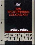 Portada de 1995 FORD THUNDERBIRD & MERCURY COUGAR XR7 REPAIR SHOP MANUAL ORIGINAL