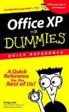 Portada de OFFICE XP FOR DUMMIES: QUICK REFERENCE
