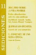 Portada de DISCURSO SOBRE LA VIDA POSIBLE: TEXTOS SITUACIONISTAS SOBRE LA VIDA COTIDIANA