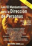 Portada de LOS 10 MANDAMIENTOS PARA LA DIRECCION DE PERSONAS