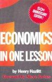 Portada de ECONOMICS IN ONE LESSON: 50TH ANNIVERSARY EDITION