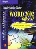 Portada de GUIA RAPIDA WORD 2002 OFFFICE XP