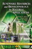 Portada de RENEWABLE RESOURCES & BIOTECHNOLOGY FOR MATERIAL APPLICATIONS (MATERIAL SCIENCE AND TECHNOLOGIES)