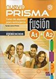 Portada de NUEVO PRISMA FUSIÓN A1+A2 EJERCICIOS