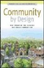 Portada de COMMUNITY BY DESIGN